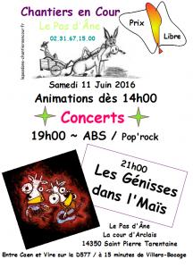 Concert 11 Juin 2016